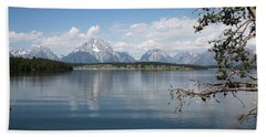 Grand Teton Range Bath Towel