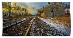 Grand Trunk Station  Hand Towel