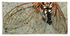Grand Western Cicada Bath Towel