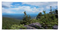 Grandfather Mountain Hand Towel