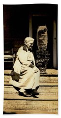 Bath Towel featuring the photograph Grandma Jennie by Paul W Faust - Impressions of Light