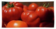 Grandpas Tomatoes Bath Towel