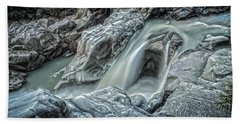 Granite Falls Blues Bath Towel