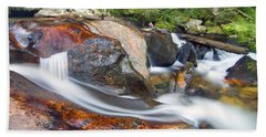 Bath Towel featuring the photograph Granite Falls by Gary Lengyel