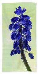 Grape Hyacinth Bath Towel