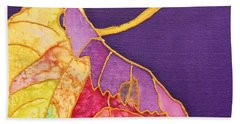 Grape Leaves Hand Towel