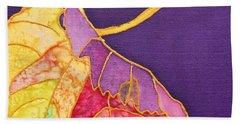 Grape Leaves Bath Towel