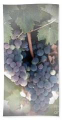Grapes On The Vine I Bath Towel by Sherry Hallemeier