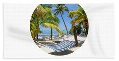 Graphic Art Relax Key West IIi Hand Towel