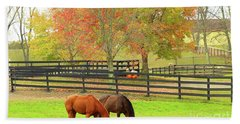 Grazing Time Hand Towel