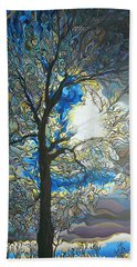 Grasping At Sunshine Hand Towel
