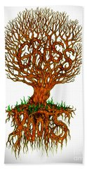 Grass Roots Hand Towel