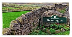 Grassington, Yorkshire Dales Hand Towel