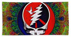 Grateful Dead Bath Towel