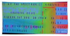 Grateful Dead - Ticket Stub Bath Towel