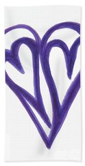 Grateful Heart Thoughtful Heart Bath Towel