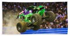 Grave Digger 7 Hand Towel