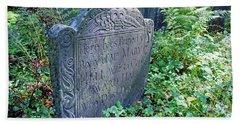 Grave Of Mary Hall Bath Towel
