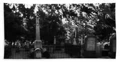 Graveyard 2 Bath Towel by Joyce Wasser