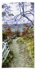 Graveyard Fields Trail Bath Towel