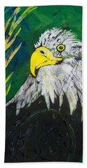 Great Bald Eagle Hand Towel