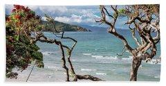 Great Barrier Island New Zealand View Hand Towel