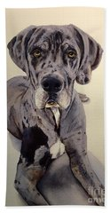 Great Dane Bath Towel