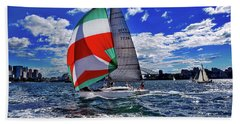 Great Day For Sailing By Kaye Menner Bath Towel