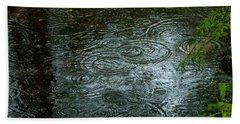 Great Dismal Water Drops Hand Towel