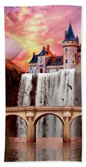 Great Falls Castle Bath Towel