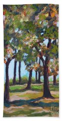 Great Outdoors Hand Towel by Jan Bennicoff