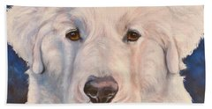 Great Pyrenees Hand Towel