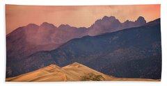 Great Sand Dunes Colorado Hand Towel