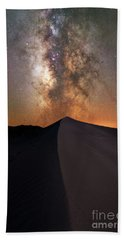 Great Sand Dunes Milky Way  Bath Towel