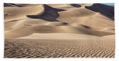 Great Sand Dunes National Park In Colorado Bath Towel