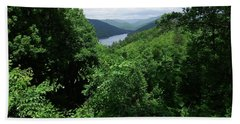 Bath Towel featuring the photograph Great Smoky Mountains by Cathy Harper