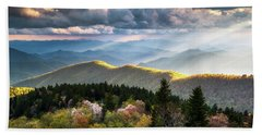 Great Smoky Mountains National Park - The Ridge Bath Towel