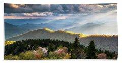 Great Smoky Mountains National Park - The Ridge Bath Towel