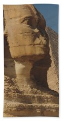 Great Sphinx Of Giza Bath Towel