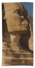 Great Sphinx Of Giza Bath Sheet