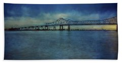 Greater New Orleans Bridge Hand Towel