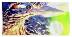 Greater Roadrunner Portrait 2 Bath Towel