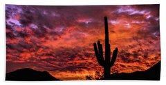Greater Scottsdale Arizona Bath Towel