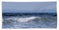 Greek Waves - 1 Hand Towel