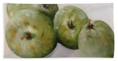 Green Apples Hand Towel