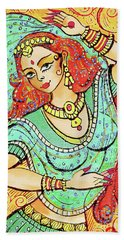 Green Devi Bath Towel