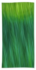 Green Fire 4 Bath Towel