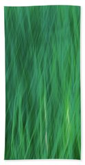 Green Fire 5 Hand Towel