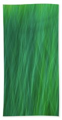 Green Fire 6 Bath Towel