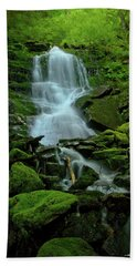 Green Grow The Mosses Hand Towel